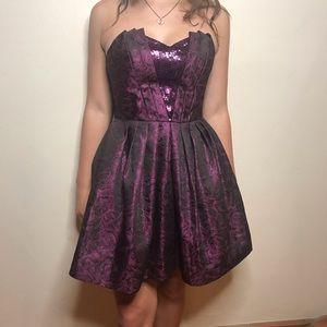 Betsey Johnson Cocktail dress strapless size 4